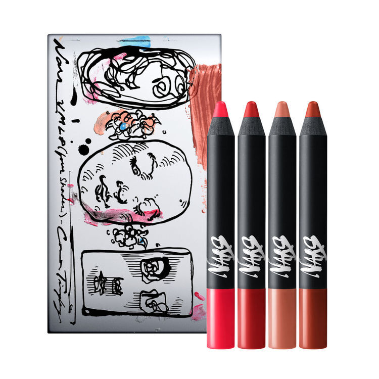 Connor Tingley Velvet Matte Lip Pencil Set, NARS Palette labbra