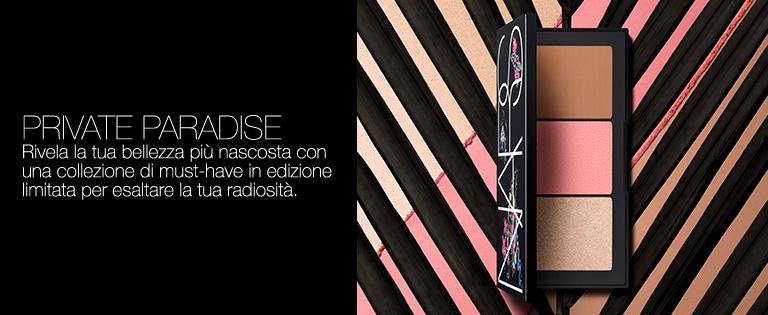 Private Paradise - Rivela la tua bellezza più nascosta con una collezione di must-have in edizione limitata per esaltare la tua radiosità.