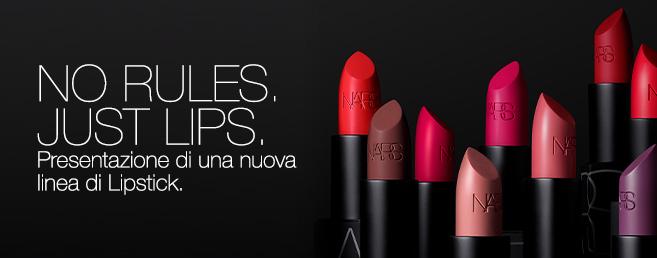 Presentazione di una nuova linea di Lipstick.